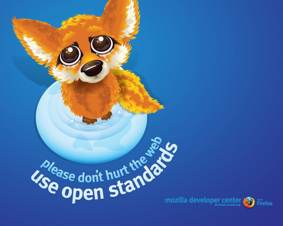 Use open standards