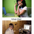 Mac user vs Linux user