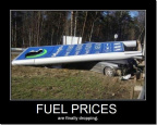 Fuel prices are finally dropping