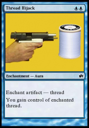 Enchant artifact - thread hijack