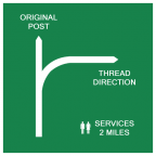 Thread direction