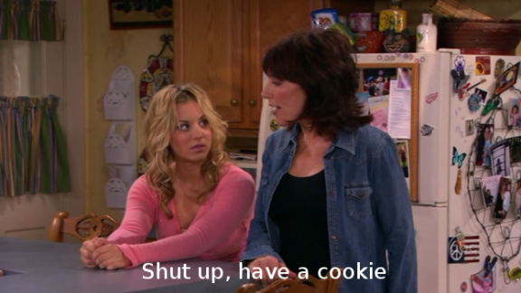 8 Simple Rules - Shut up, have a cookie