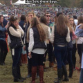 College girls dress like Han Solo