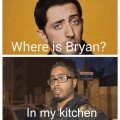 Bryan in Jawad's kitchen