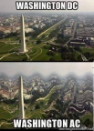 Washington DC vs AC