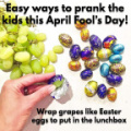 Prank kids for April fool with Easter eggs