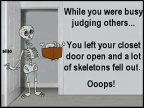 Skeletons in your closet