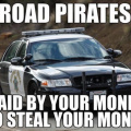 Road pirates