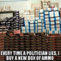 I buy ammo when...