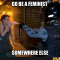 Go be a feminist somewhere else
