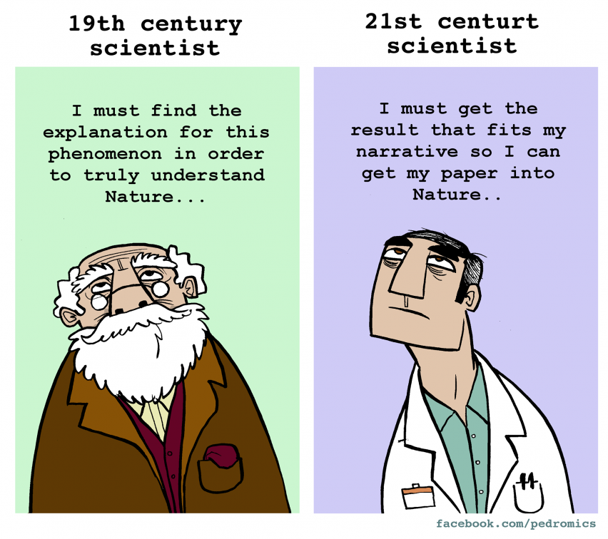 Scientists focus on papers more than science