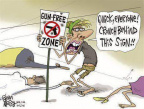 Gun-free zone sign must be bulletproof