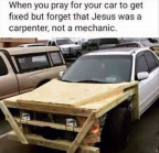 Jesus was a carpenter