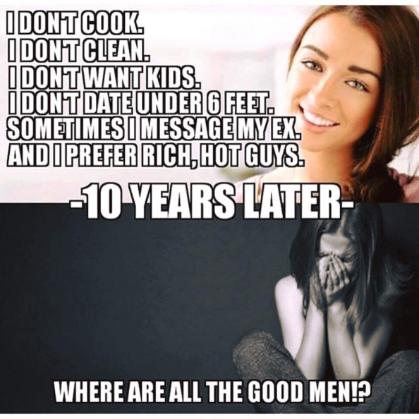 Where are all the good men?