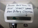 Short speech Hillary