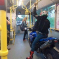 Bike in the bus