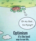 Optimism,best way to see life
