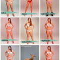 Ideal body type around the world