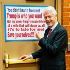 "Bill Clinton: ""save yourselves"""