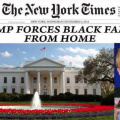 Trump evicts black family