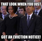 Obama eviction notice