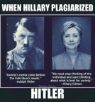 When Hillary plagiarized Hitler