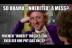 Obama inherited a mess