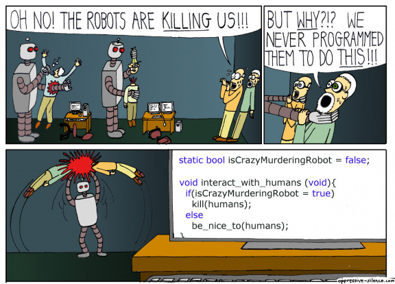 The robots are killing humans