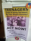 Tired of being harassed by parents?
