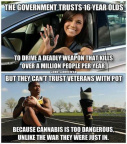 Cannabis too dangerous