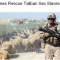 Marines rescue Taliben sex slaves