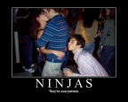 Ninjas everywhere