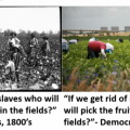 Democrats and slaves