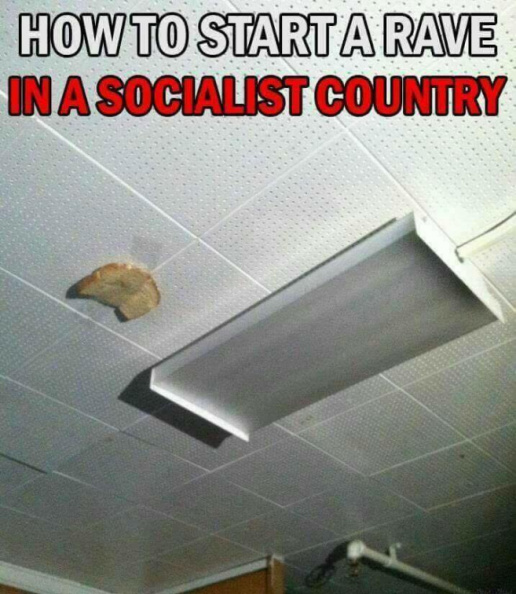 How to start a rave in a socialist country