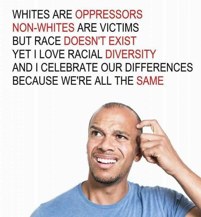 Whites are oppressors