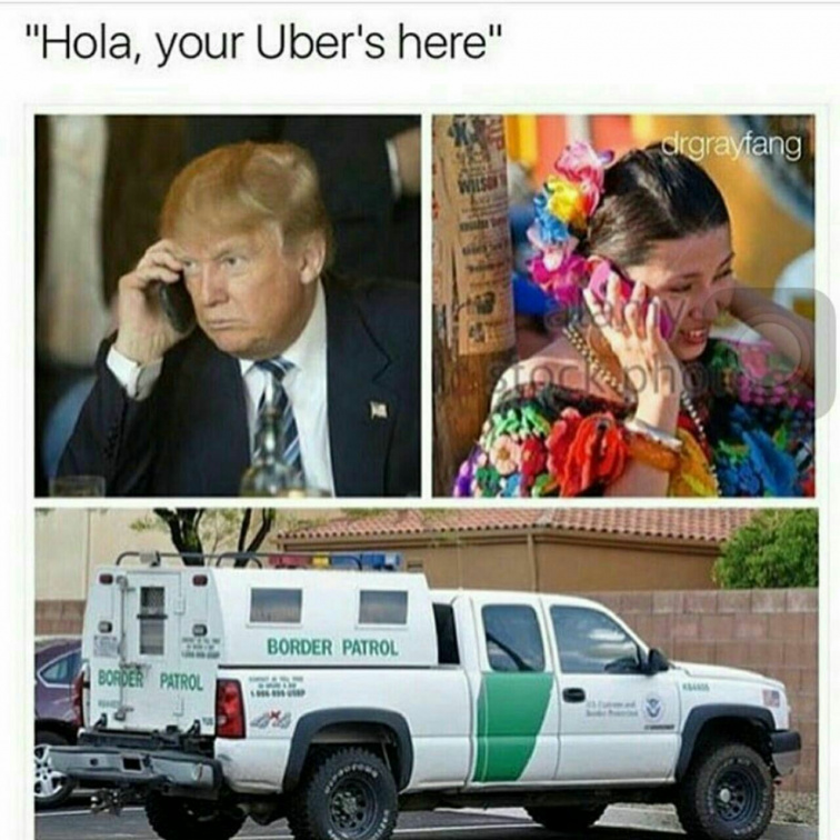 Hola, your Uber is here