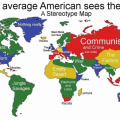 The World seen from the USA