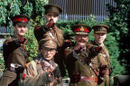 Blackadder Goes Forth cast