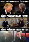 Débat US, France, Russie
