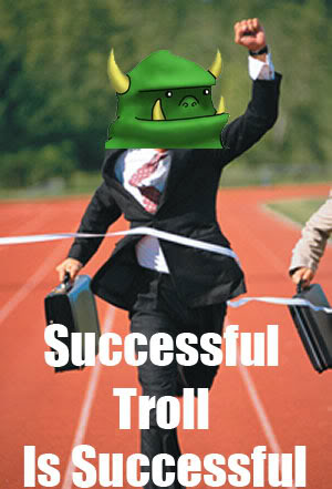 Troll is successful