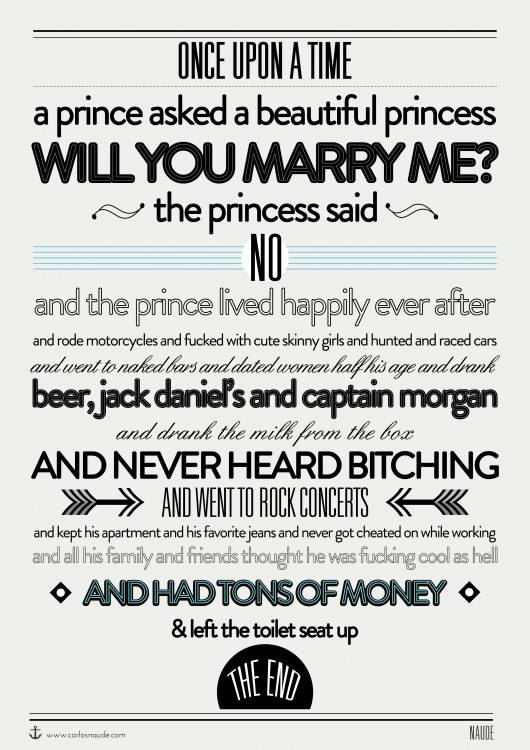 Once upon a time, a prince asked...