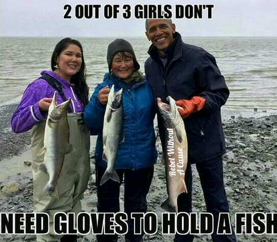 2 out of 3 girls don't need gloves...