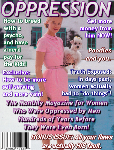 Women oppression magazine