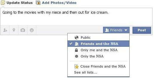 Share with NSA