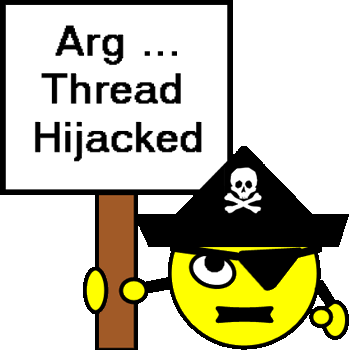 Arrr... Thread hijacked