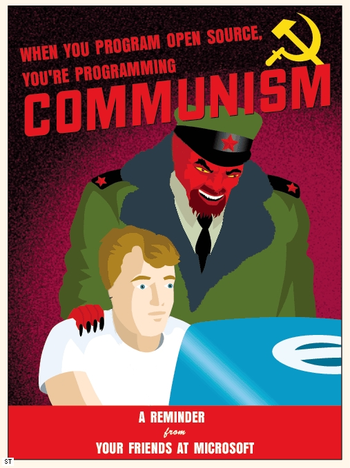 Open source & Communism
