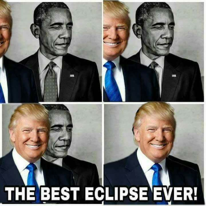 Trump eclipses Obama